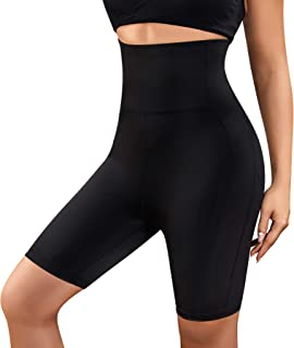 Gotoly Women's Butt Lifter Shorts Body Shaper High Waist Smooth Slip Panty Waist Trainer Tummy Control Thigh Slimmer