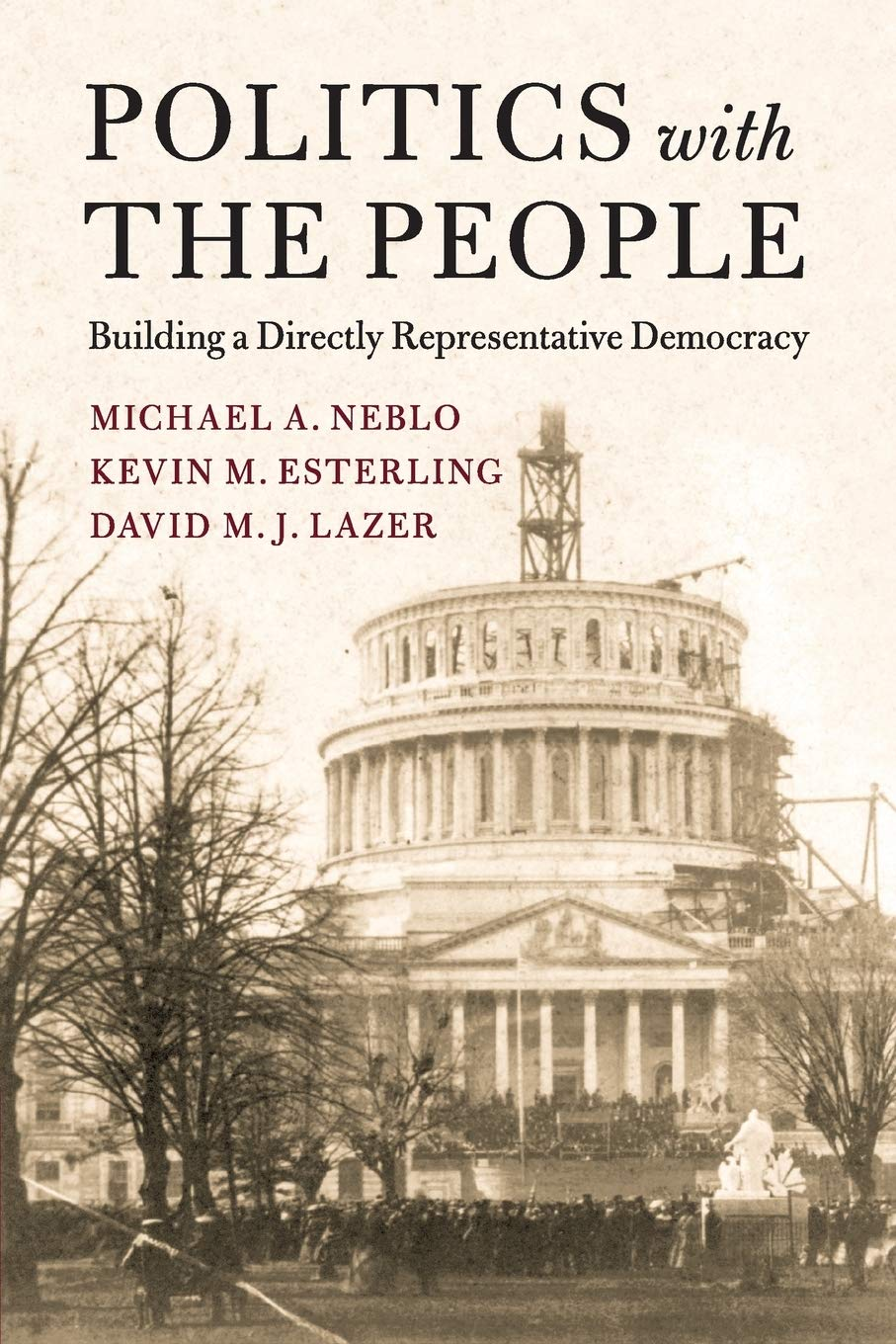 Image OfPolitics With The People (Cambridge Studies In Public Opinion And Political Psychology)