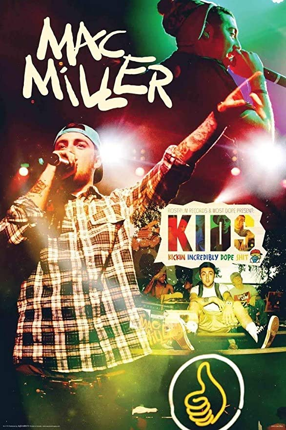 Mac Miller The Macadelic Tour Poster 24 x 36
