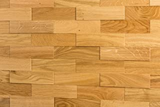 wodewa Paneles de Madera Para Pared Roble Natural I 1m²
