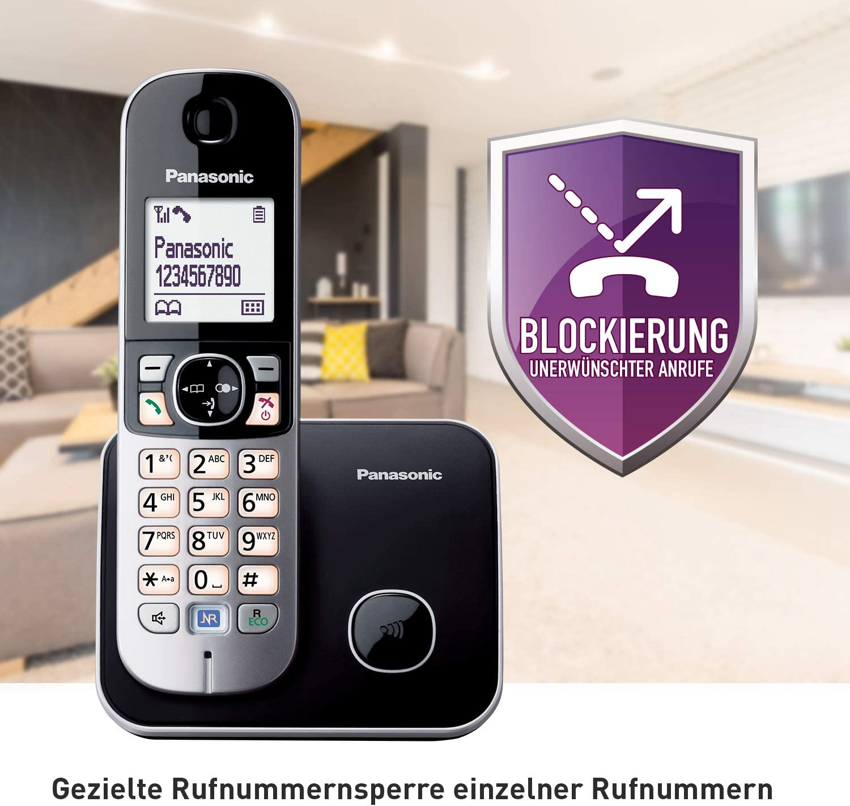 Panasonic KX-TG6811GA Cordless Phone DECT,Hands Free Functionality ...