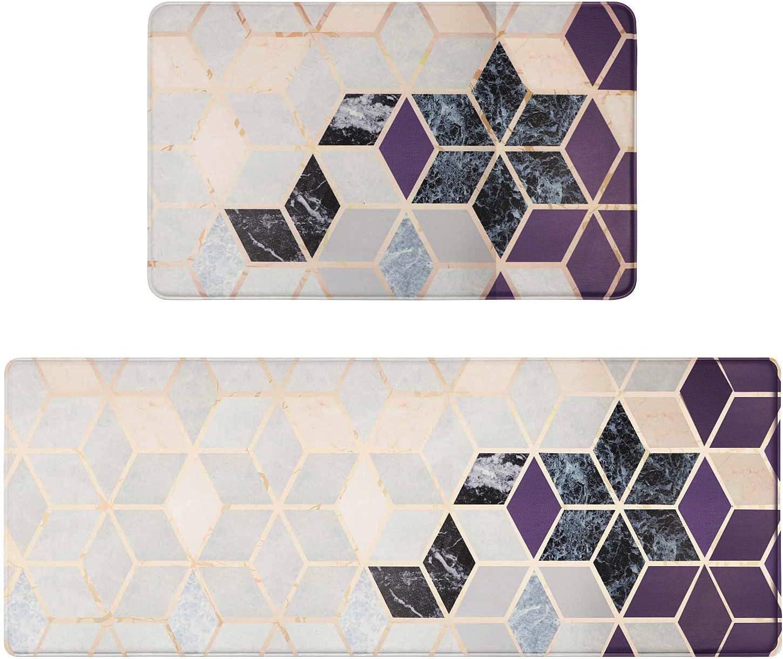 Max 77% OFF Sale SALE% OFF Falflor 2 Piece Anti Fatigue Kitchen Sets Rug Comfort PVC Leathe