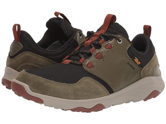 Teva  Arrowood Venture WP (Dark Olive) Mens Shoes