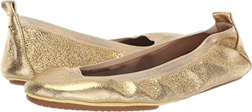 Gold Textured Leather