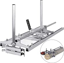 """VBENLEM Chainsaw Mill Planking Milling 14"""" to 36"""" Guide Bar Wood Lumber Cutting.."""