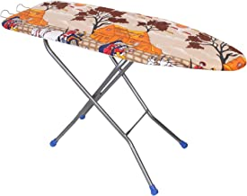 HOUZIE Wooden Base Violet Folding Ironing Table, 122x47cm