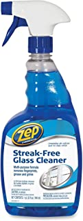 ZEP 1041435 Streak-Free Glass Cleaner, Pleasant Scent, 32 oz Spray Bottle