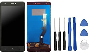 Theoutlettablet® - Pantalla LCD Completa LCD capacitiva con tactil digitalizador para Bq Aquaris X/X Pro + Herramientas - Color Negro