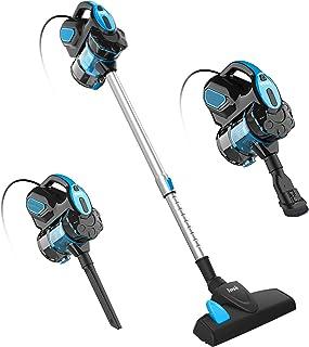 INSE Vacuum Cleaner Corded I5 Stick Vacuum Cleaner 18KPA Powerful Suction 600W Motor Multipurpose 3 in 1 Handheld Vacuum C...