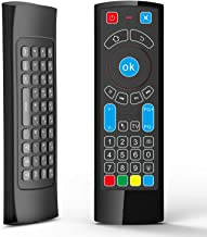 Bluetooth Remote Specifically Compatible with Amazon Fire TV and Fire TV Stick- Air Remote Control with Keyboard/Air Remote Mouse, Compatible with Android TV/Box/Windows/Raspberry Pi 3(without Alexa)