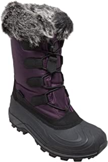 WinterTecs: Warm Winter Boots for Women, Insulated, Non Slip, Insulated, Felt Liner + Waterproof Boots, Snow Boots for Women,