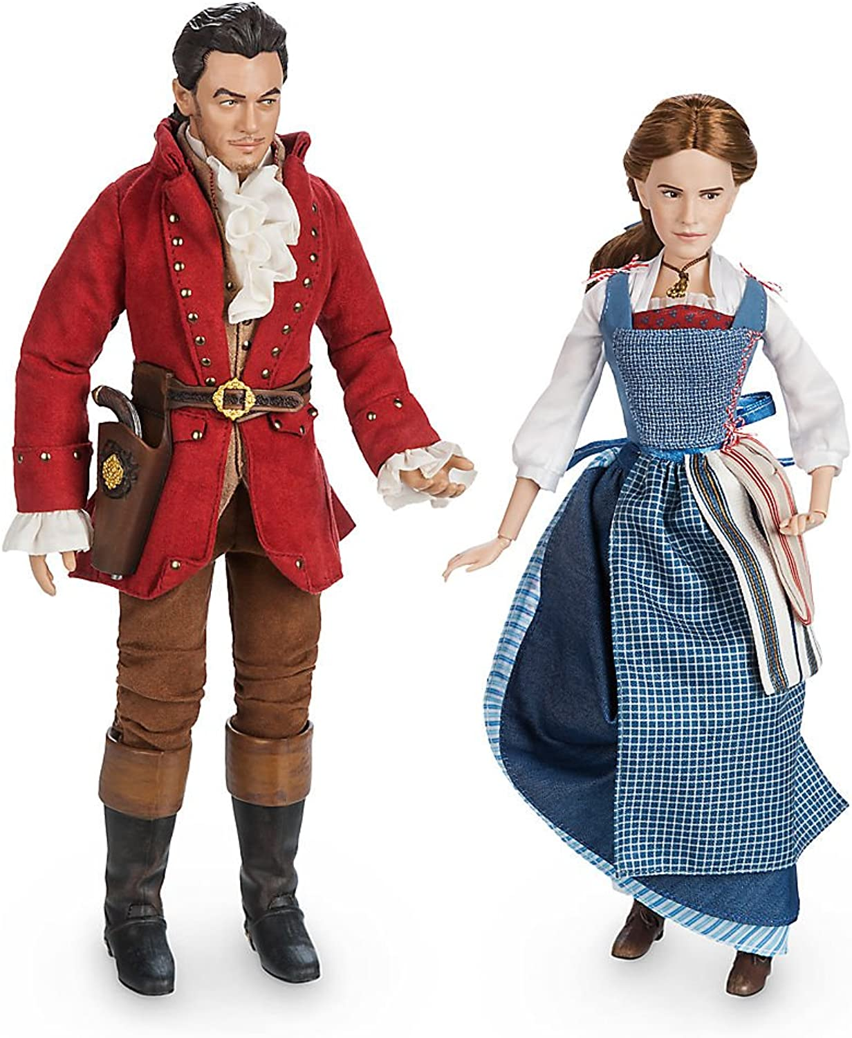 Disney Belle & Gaston Film Collection Doll Set  Beauty and the Beast  Live Action Film