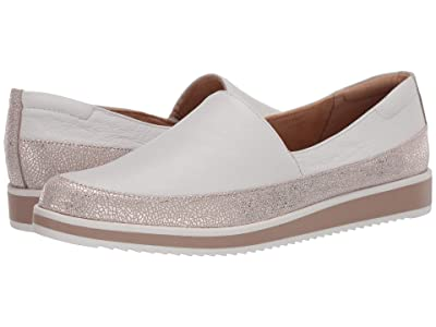 Naturalizer Beale (White Pebble Leather/Crackle) Women