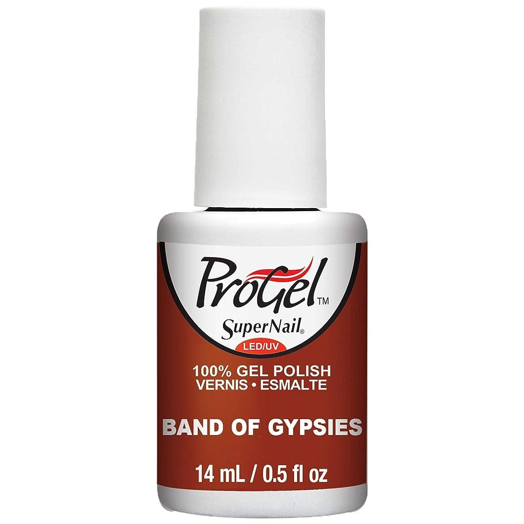 彼女は支払い急流SuperNail ProGel Gel Polish - Band of Gypsies - 0.5oz / 14ml