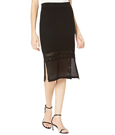 BCBGeneration Sweater Skirt SB1SX5S03 (Black) Women