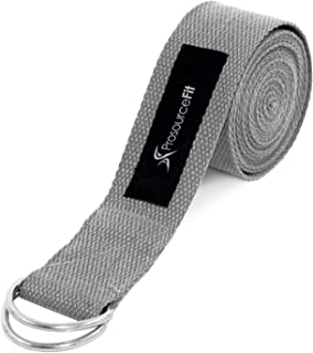 ProSource Yoga Strap with Metal D-Ring