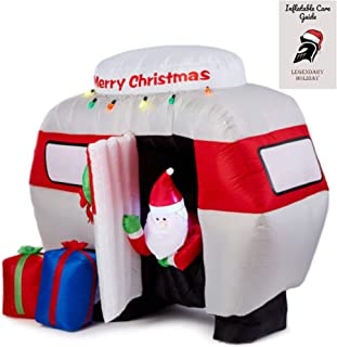 Santa Camper Inflatable Outdoor Christmas Decoration 6 ft and Inflatable Care Guide