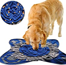 BBDOGO Snuffle Mat for Dogs Nosework Blanket Slow Feeding Pad Fun Playmat Toys Relieve Stress CW085
