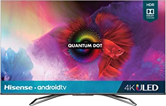 Hisense 55-Inch Class H9 Quantum Series Android 4K ULED Smart TV with Hand-Free Voice Control (55H9G, 2020 Model)
