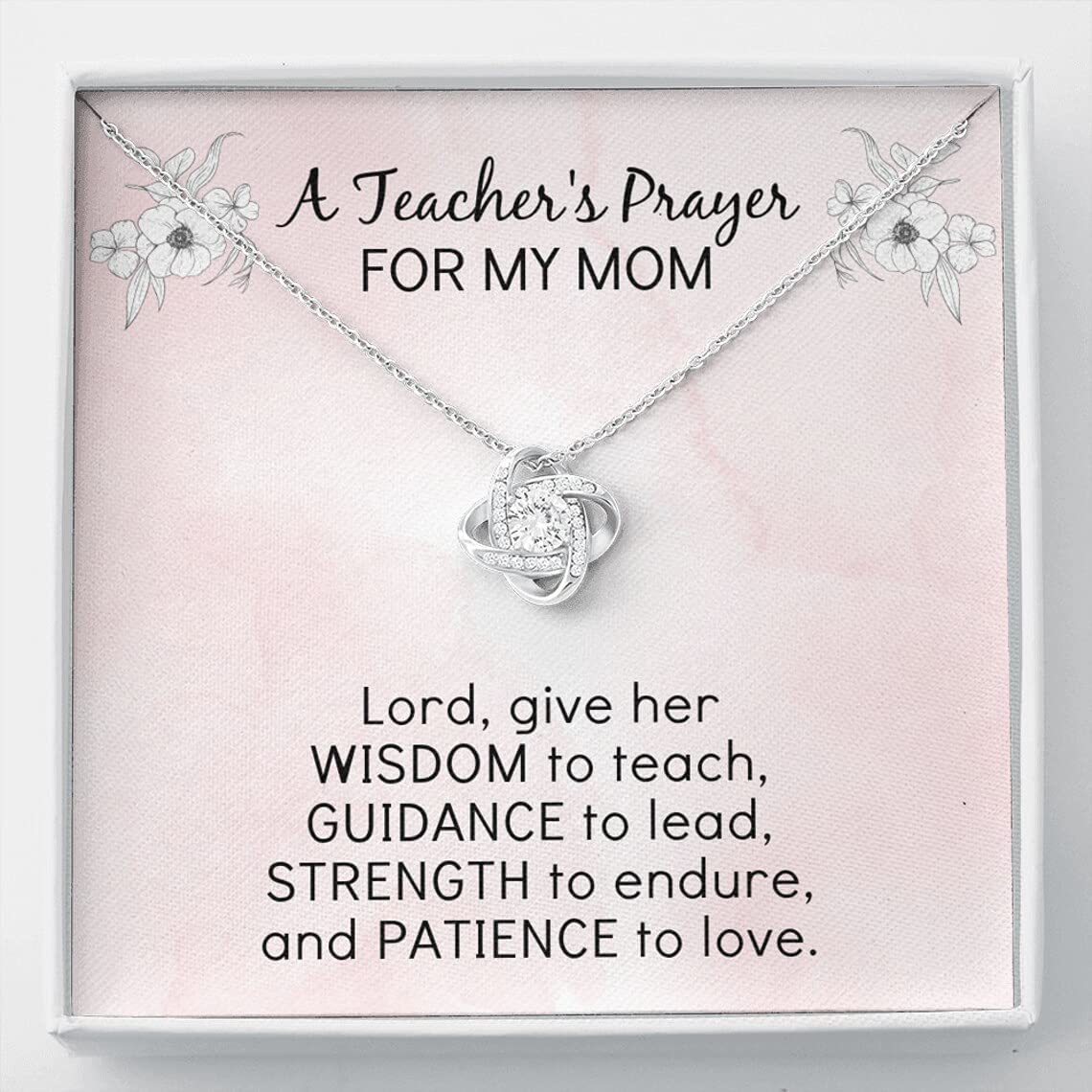 Customized A 55% OFF Teachers Prayer for Gift My cheap Mom Back