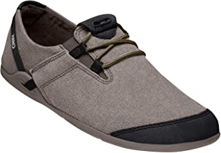 Xero Shoes Casual Canvas Barefoot-Inspired Shoe - Men's Hana Black/Rust