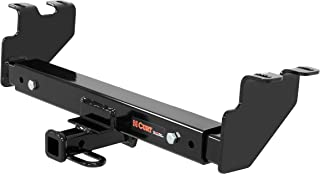CURT 12923 Multi-Fit Class 2 Adjustable Hitch for 2-Inch Receiver, 6-3/4-Inch Drop, 3,500 lbs.