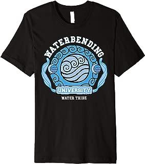 Water Bending University Logo Water Nation  Premium T-Shirt