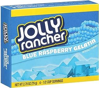 Jolly Rancher Gelatin 2.79oz Box (Pack of 12) (Blue Raspberry)