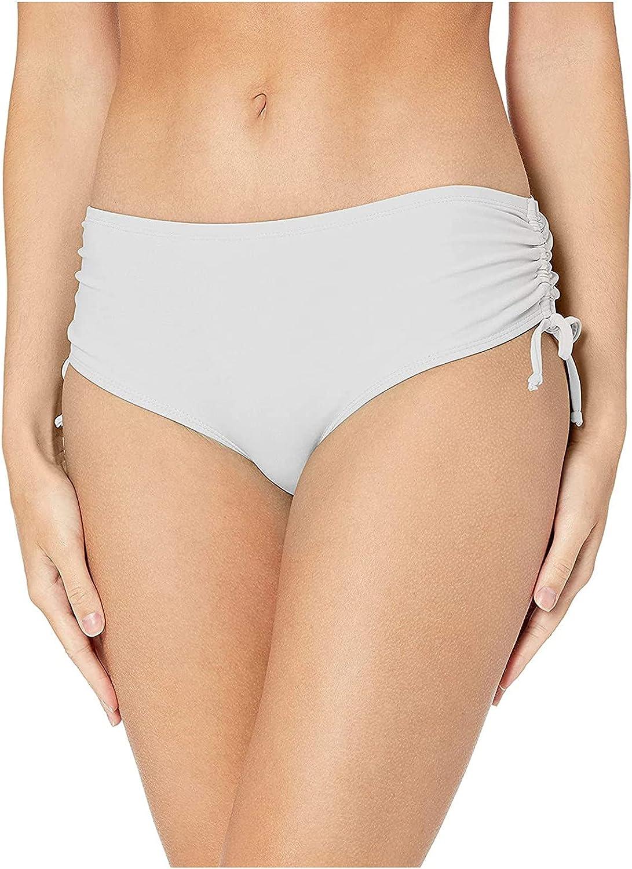 Women's Swim Briefs Bikini Bottoms Swimsuit Tankini Bottoms Conservative Drawstring Swimming Short