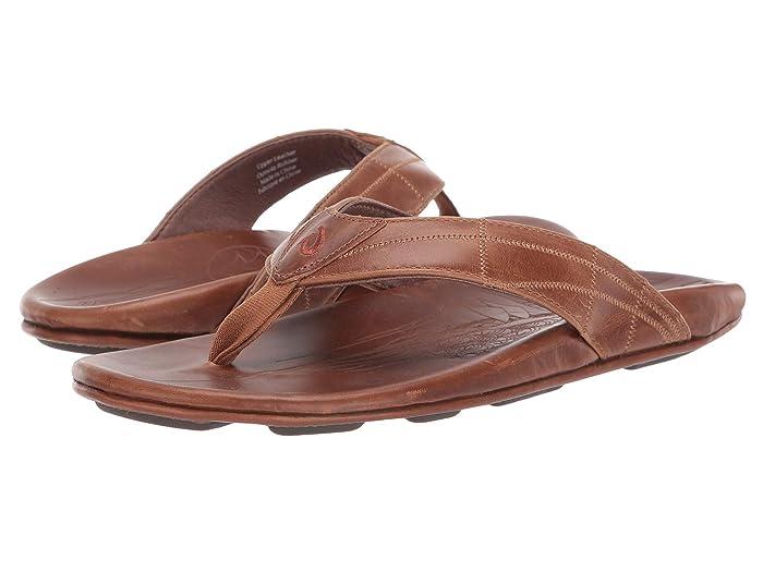 Hokule'a Kia  Shoes (Tan/Tan) Men's Sandals