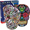 Aquarius Sugar Skulls Jigsaw Puzzle (600 Piece)