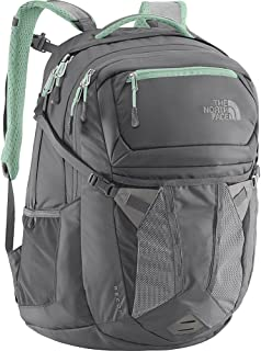 The North Face Women's Recon Laptop Backpack 15 Inch- Sale Colors (Zinc Grey/Surf