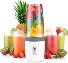 Busy Life Portable Blender – Household Fruit Juicer – Powerful Smoothie Maker - Rechargeable USB - FDA BPA Free Grey