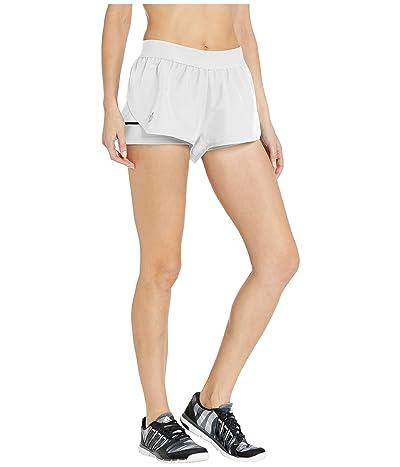 adidas Club Shorts (White/Matte Silver/Black) Women