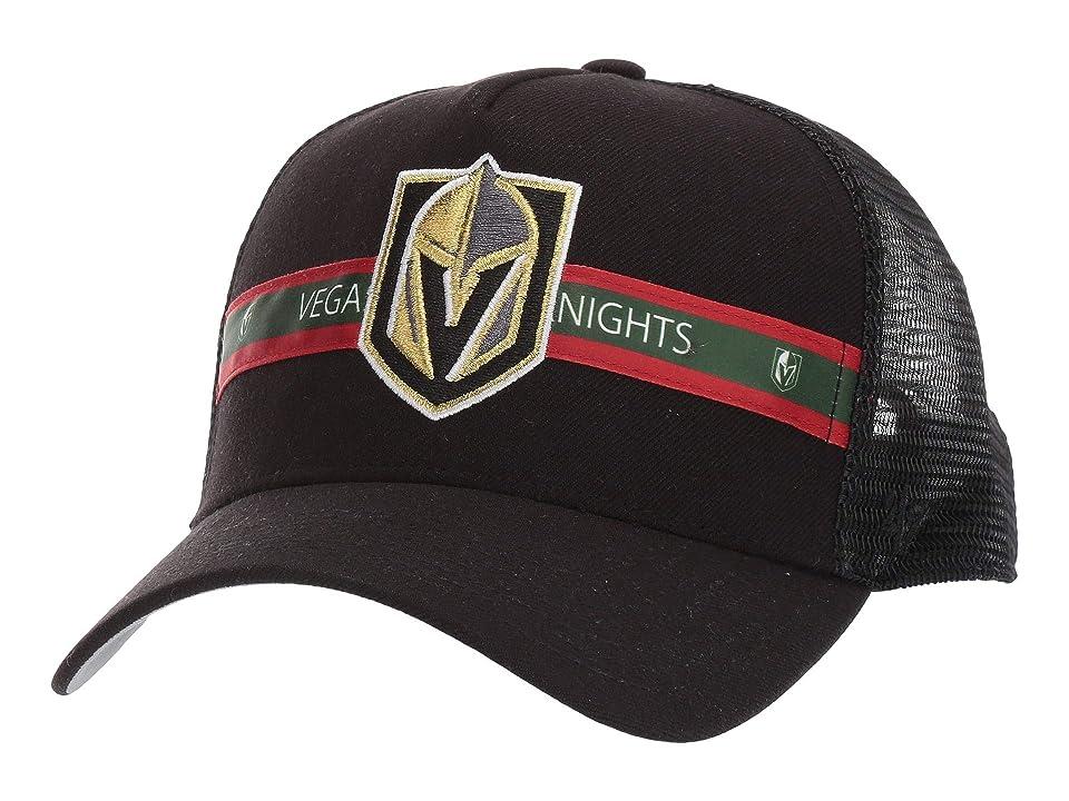 Image of '47 LV Golden Knights Tri Stripe 47 MVP (Black 2) Baseball Caps