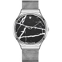 Betfeedo Mens Wrist Watches Ultra-Thin Quartz Analog Watch