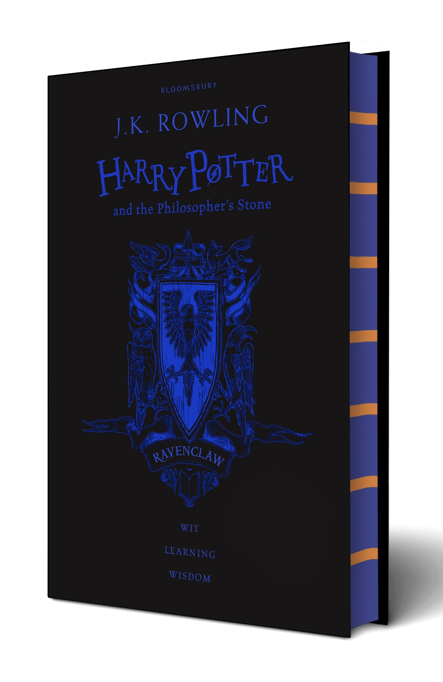 Harry Potter and the Philosopher's Stone: Ravenclaw Edition; Black and Blue