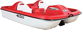 Pelican Sport - PEDAL BOAT MONACO - Adjustable 5 Seat Pedal Boat, Red/White