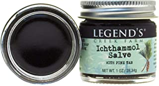 Ichthammol 20% & Pine Tar Ointment for Drawing - 1 Oz Jar