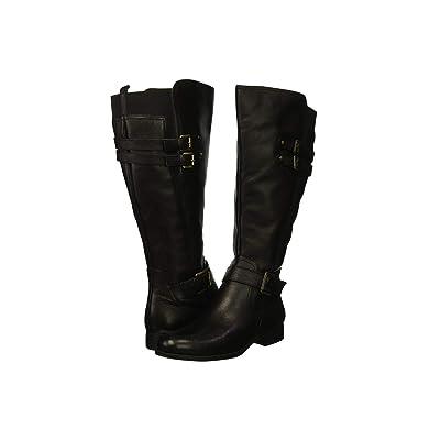 Naturalizer Jessie Wide Calf (Black Wide Calf Leather) Women