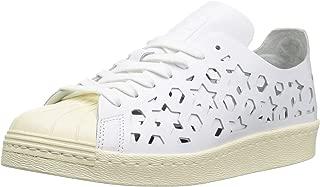 adidas Originals Women's Superstar 80s Sneaker, Cream White, 8.5