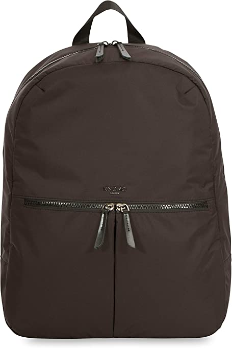"Knomo Dalston Berlin, 15"" Lightweight Water-Resistant Laptop Backpack, with Device Protection and KNOMO ID, Black"