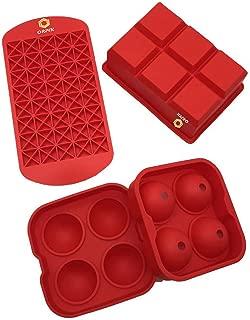 small round ice cube trays