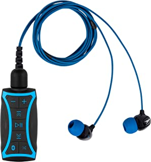 H2O Audio 100% Waterproof Stream MP3 Music Player with Bluetooth and Underwater Headphones for Swimming Laps, Watersports,...
