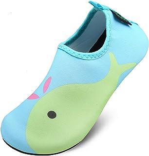 SAGUARO Chaussures Aquatiques Chaussettes de d'eau Enfants