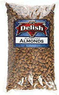 Gourmet Whole Almonds Roasted Unsalted by Its Delish Bulk (5 lbs)