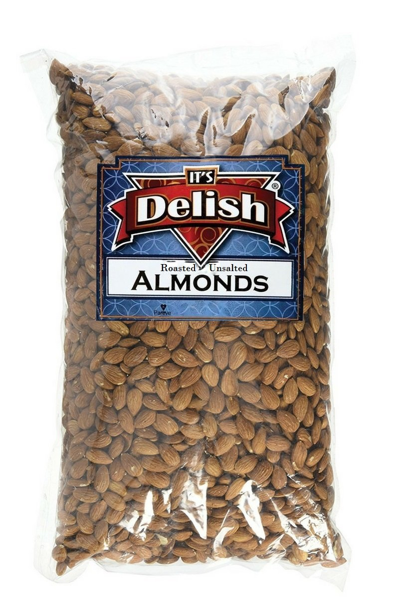 Gourmet Whole Almonds Roasted Unsalted by lbs 5 Bulk 5 ☆ very popular 5% OFF Delish Its