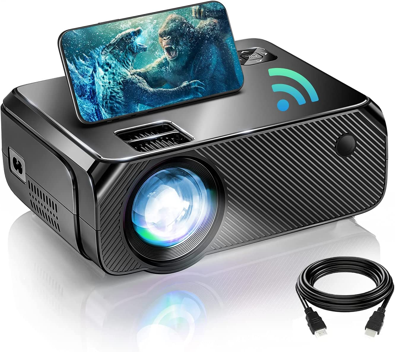 Bowmaker Tech 1080P Native WiFi Mini Projector $64.99 Coupon