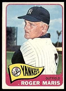 Baseball MLB 1965 Topps #155 Roger Maris EX Excellent Yankees