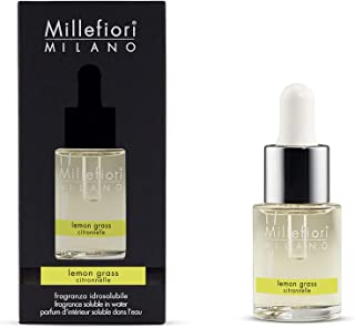 Millefiori Milano fragranza idrosolubile | 15ml | fragranza Lemon Grass | da utilizzare con diffusore di fragranza per amb...